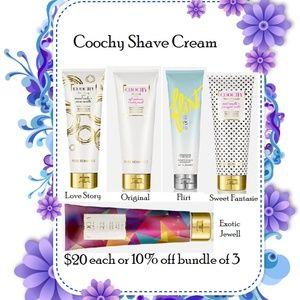 Coochy Shave Cream - Love Story